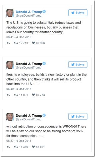 Trump menace