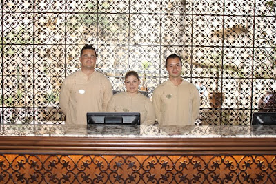 Front Desk Staff at Grand Solmar Land's End Resort & Spa in Cabo San Lucas, Mexico - Photo Courtesy of CIIC