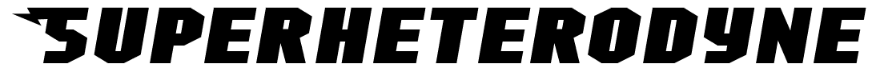 Superheterodyne tipografias gratis