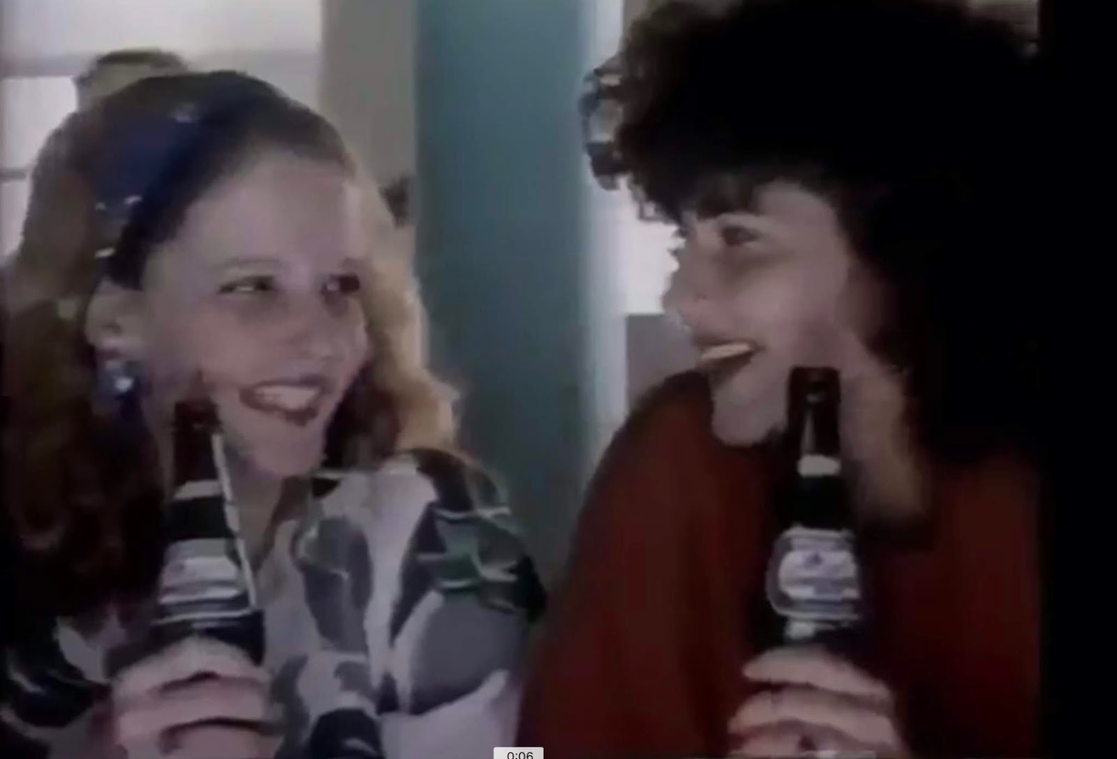Propaganda antiga da Antarctica de 1987 promovendo a Soda Limonada