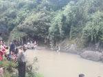 Seorang Pemuda Hanyut Terbawa Arus Saat Mandi Di Sungai