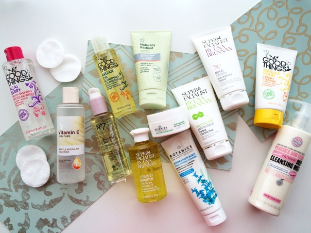 best affordable skincare products from UK pharmacy highstreet chemist drugstore