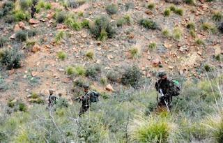 Quatre caches pour terroristes découvertes et détruites par les forces de l'ANP à Béjaïa