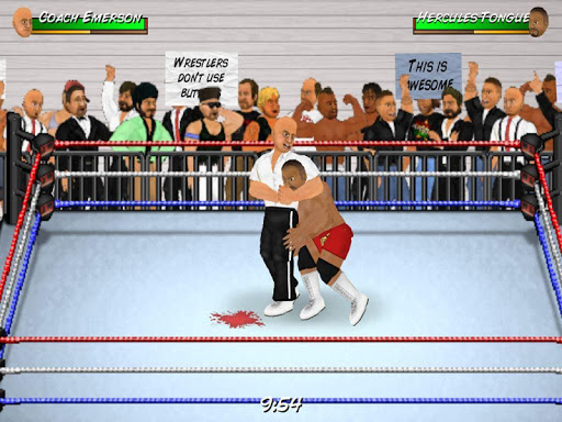 wrestling revolution screenshot 3