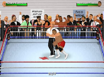 Wrestling Revolution 2.040 APK with Mod + Data 3