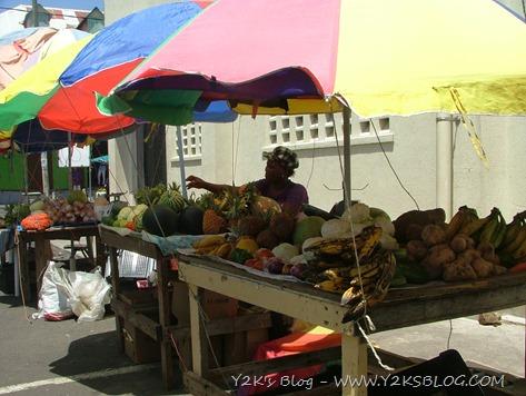 Mercato della frutta e della verdura di Portsmouth - Dominica