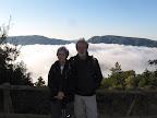 Mere y Pedro y el mar de nubes