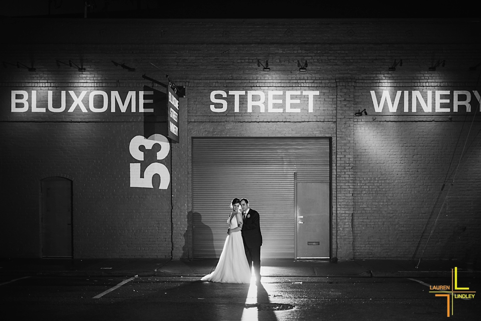Bluxome Street Winery Wedding