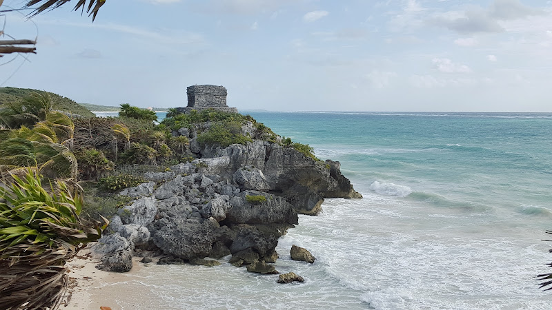Ruines de Tulum, Cancún, Mexique, site archeologique, elisaorigami, travel, blogger, voyages, lifestyle