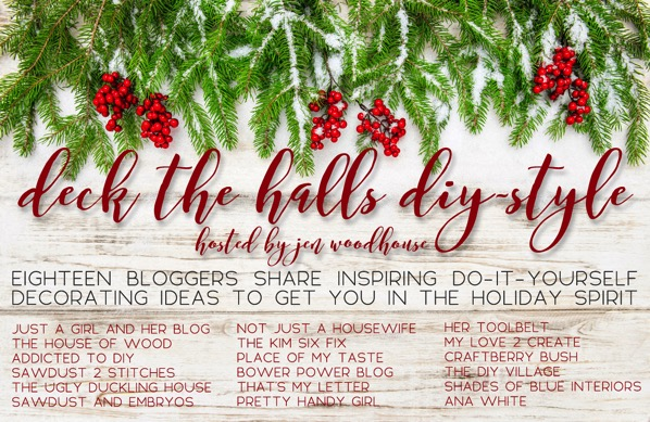 Deck the halls diy graphic