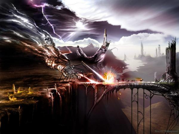 Amazing Berserks Of Doom, Battle
