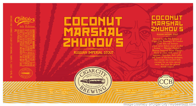 Cigar City Coconut Marshal Zhukov's Coming To Cans