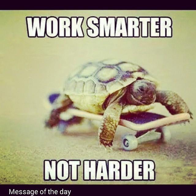 Work Smarter Not Harder Quote: PowerPlug