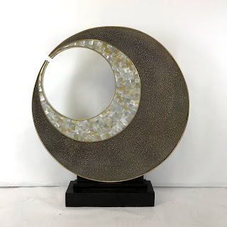 Abstract Circular Floor Sculpture