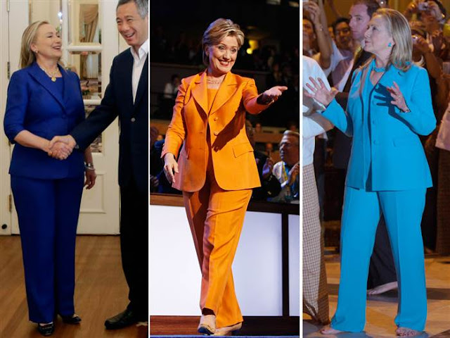 hillary clinton dress code