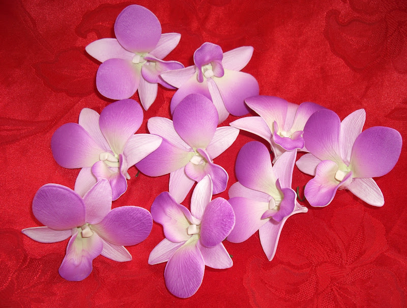 Orchid Pink/Purple Decoration - Flower