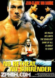 Không Rút Lui, Không Đầu Hàng - No Retreat, No Surrender (1986) Poster