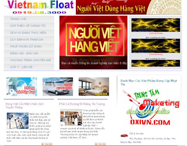 Dự án thiết kế website doanh nghiệp 07
