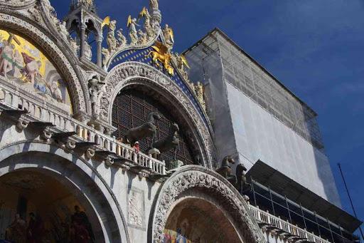 Façade de la basilique Saint-Marc.