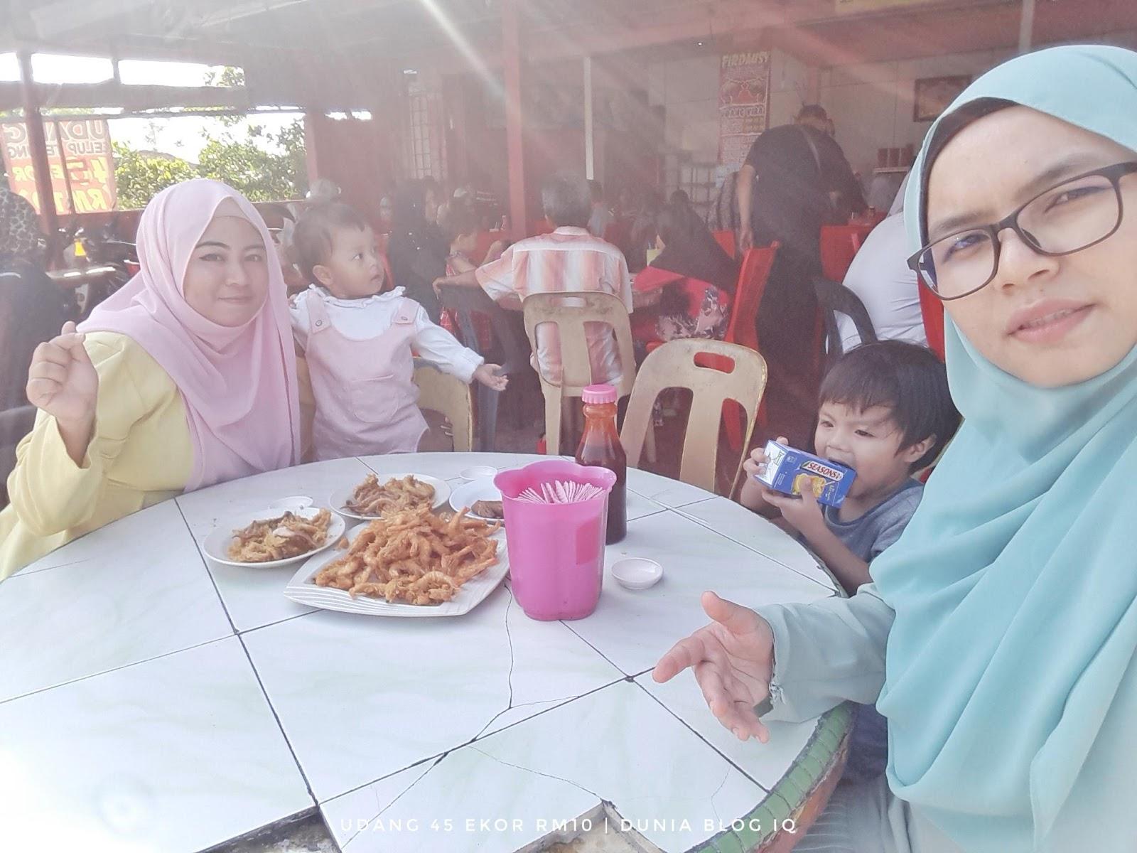 Udang Viral 45 Ekor RM10 di Firdausy Seafood Corner, Tok Jembal, Kuala Terengganu
