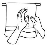 Secarse manos