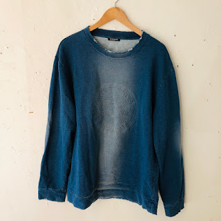 Balmain Distressed Pullover