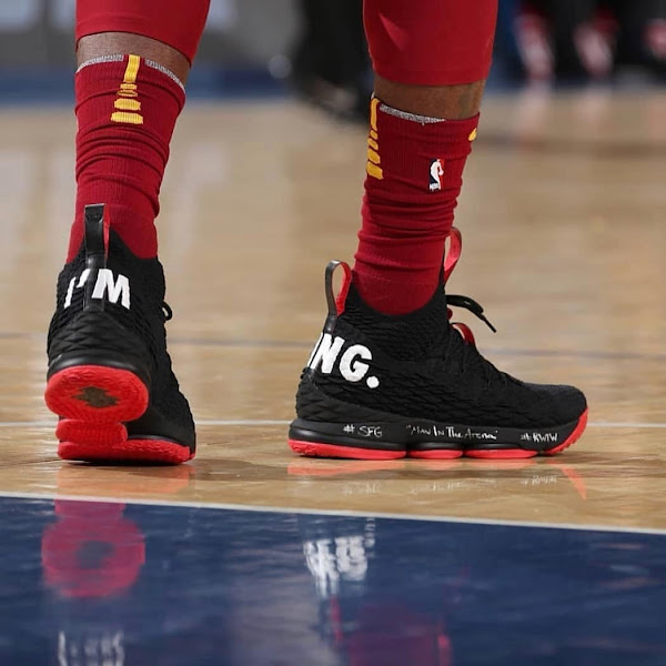 LeBron James Returns to New York in Im King Nike LeBron 15 PEs