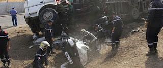 8 morts et 14 blessés dans un accident de la route à Skikda