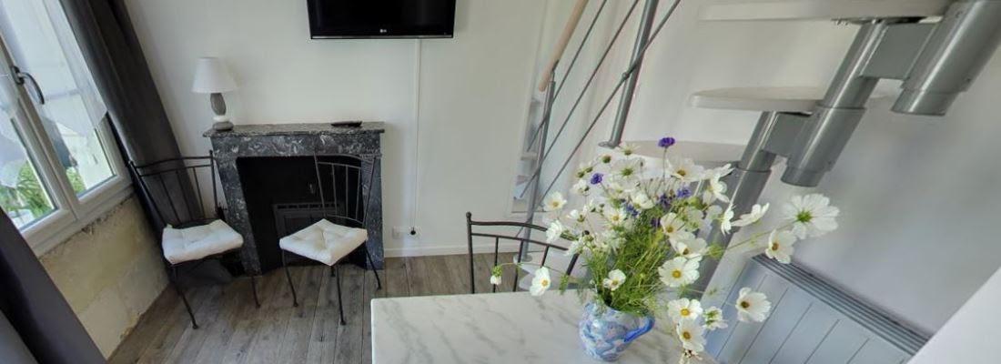 Visite virtuelle de la chambre d hote avec spa et jacuzzi 2 places allongees