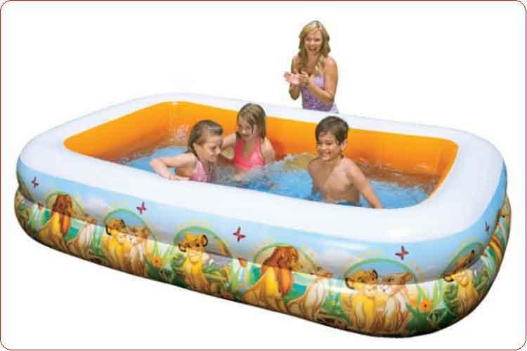 Bể bơi trẻ em intex 57492 (260cm – 175cm – 56cm).