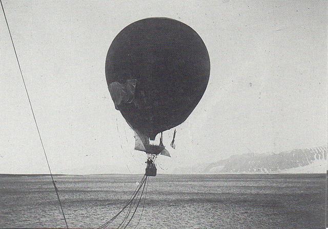 014 Andrées polarexp start 11.7.1897