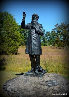 Father Corby statue