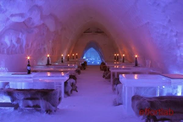 lainio-snow-village-ice-restaurant-yllasjarvi-finland