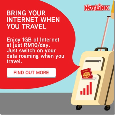 Hotlink Data Roam