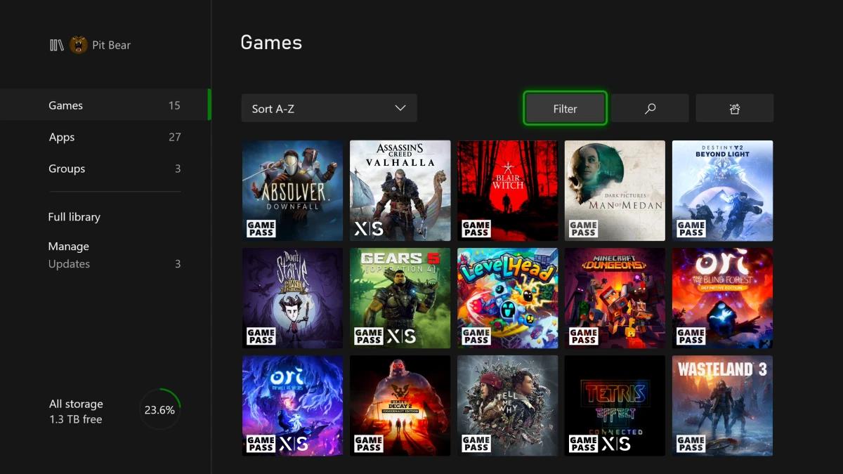 Aggiornamento di novembre disponibile per Xbox