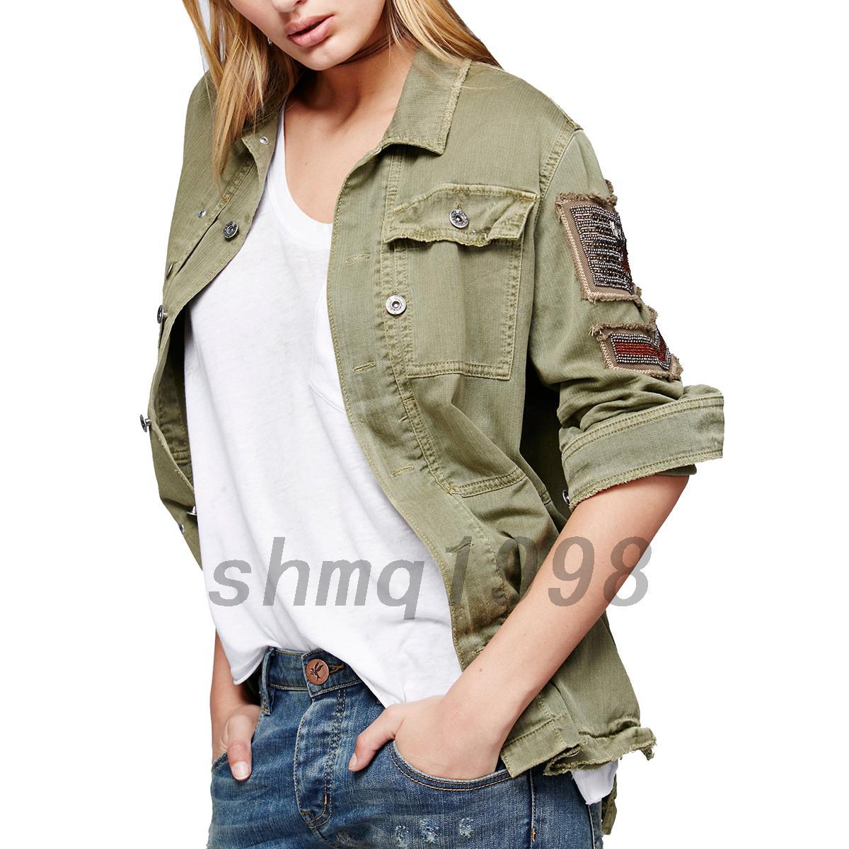 blouson en jean femme veste demi saison coton denim chemise grande taille ebay. Black Bedroom Furniture Sets. Home Design Ideas