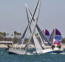 Congressional Cup- led by J/24 World Champions