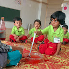 Roohafza making activity (Nursery) 26-4-2016
