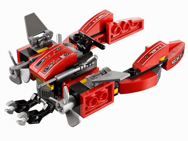 7977 レゴ アトランティス シーベッド・ストライダー