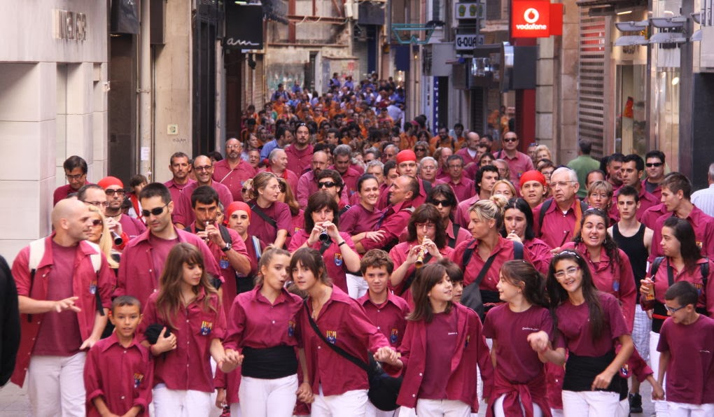 XII Trobada de Colles de lEix, Lleida 19-09-10 - 20100919_118_Colles_Eix_Actuacio.JPG