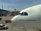 Salida del aeropuerto de Barajas en Madrid