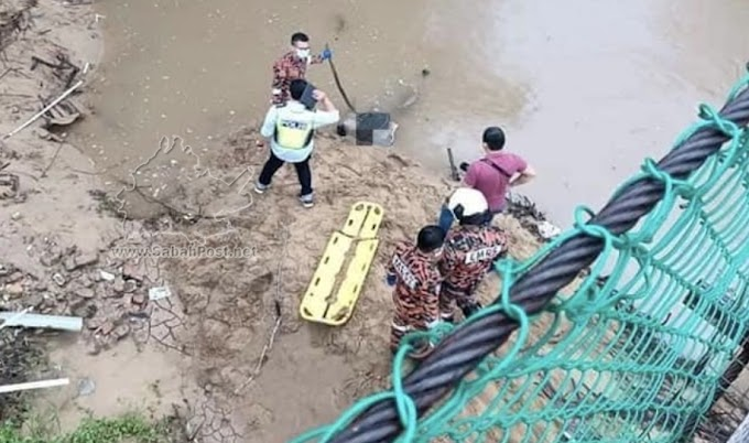 Pemancing Jumpa Mayat Terapung Di Sungai Moyog