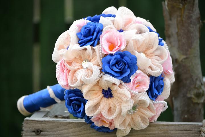 Buchet handmade romantic