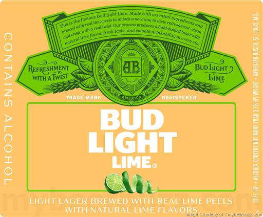 ... Bud Light Lime Image ...