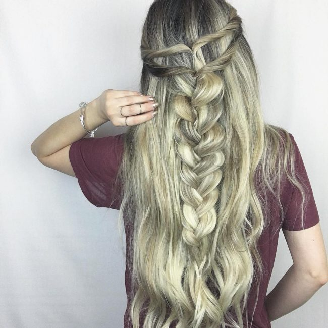 French Braid Hairstyles Inspiration