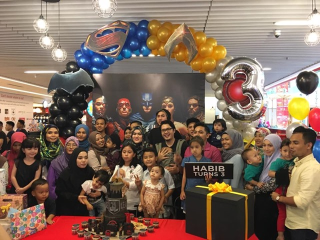 DC Comic Super Heroes Cafe, Sunway Putra Mall