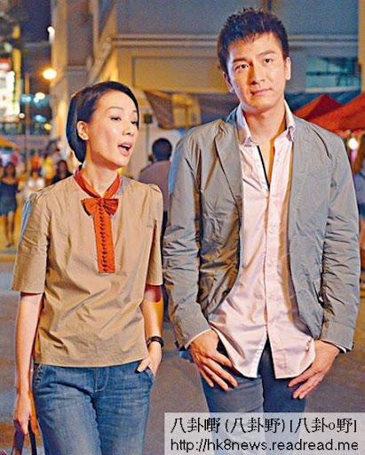 馬國明與江美儀日前到廟街拍攝新劇《衝上雲霄2》。