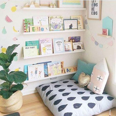 10 rincones de lectura para habitaciones infantiles