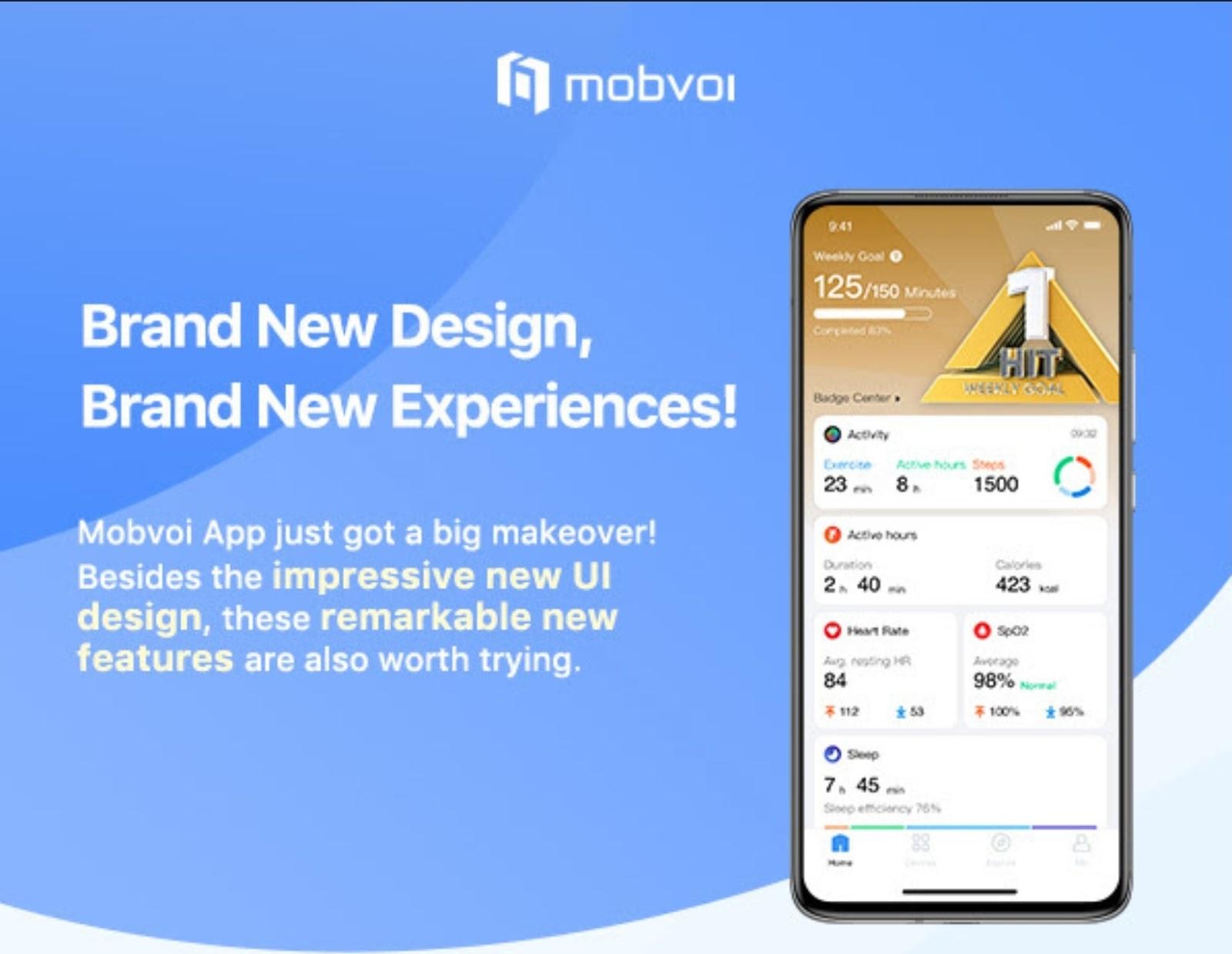 Mobvoi App สำหรับ Ticwatch อัพเดทแอพใหม่ ยกดีไซน์ใหม่ กับประสบการณ์ใหม่ที่ง่ายขึ้น