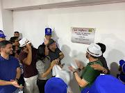 Prefeito Osmar Fonseca entrega obra realizada com recursos próprios do município em Lago do Junco-MA